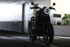 motorbikes parking bay