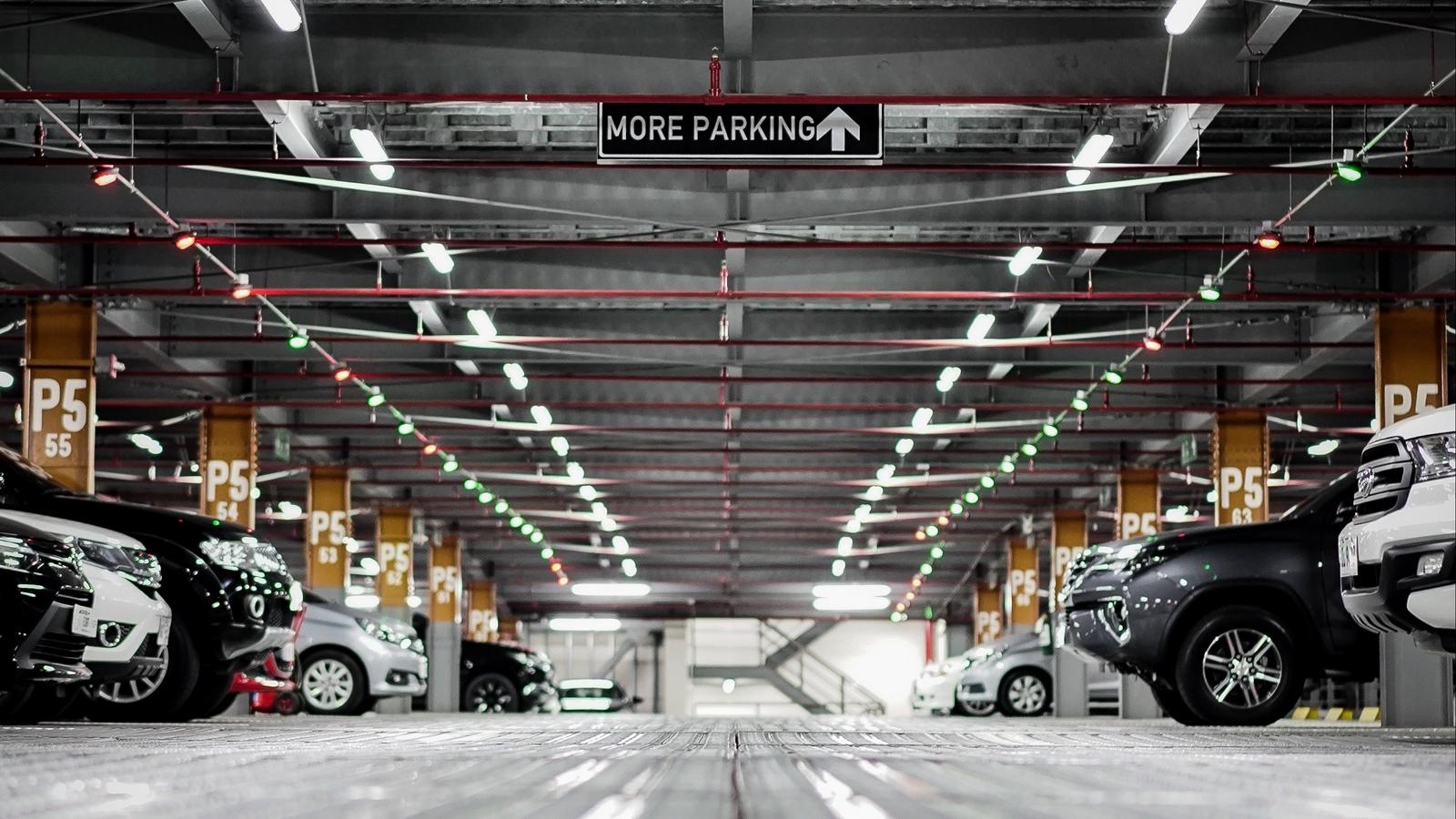 Transpark underground carpark